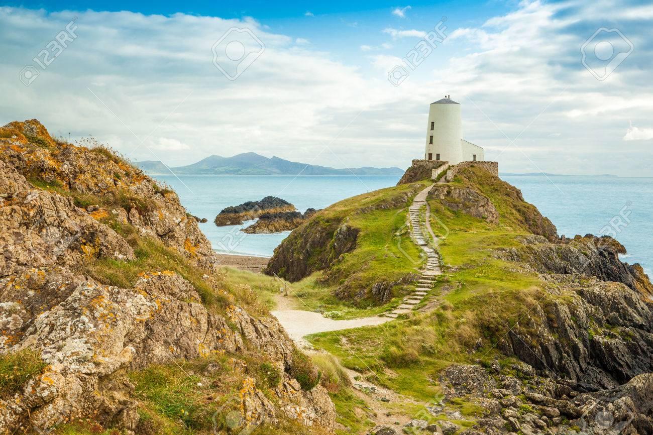 Llanddwyn 島、アングルシー島北...