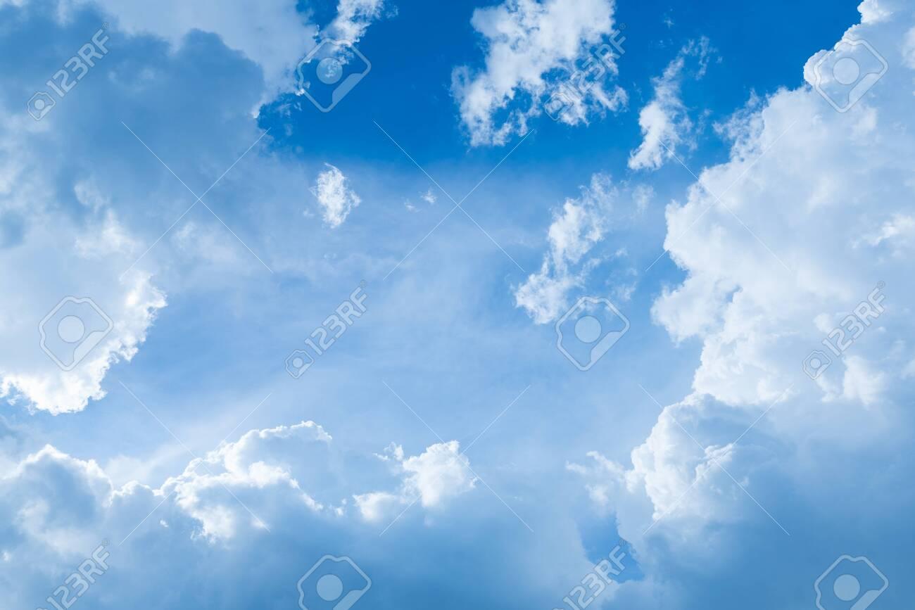 Blue sky with cloud - 148652669