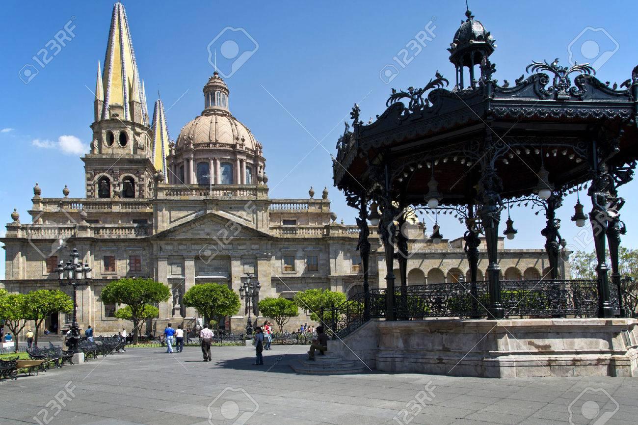 Denkmäler Von Guadalajara Jalisco Mexiko Lizenzfreie Fotos Bilder