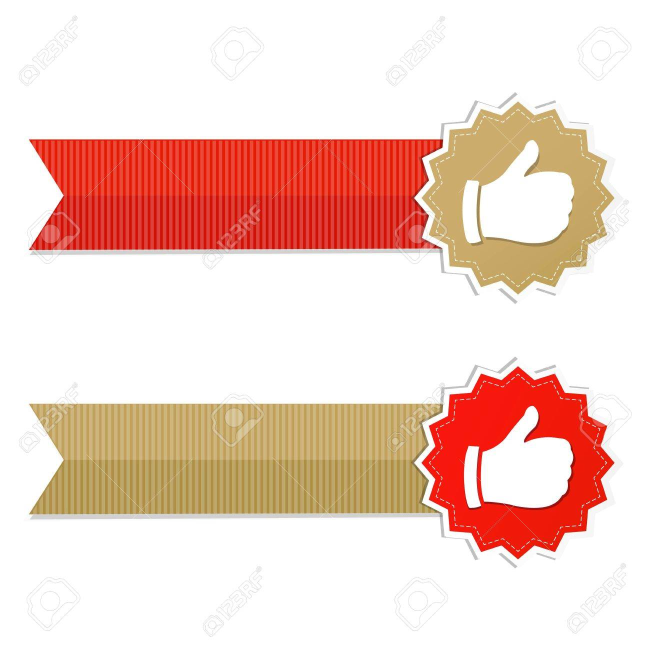 Best Choice Labels And Ribbons,  Illustration Stock Vector - 19580707