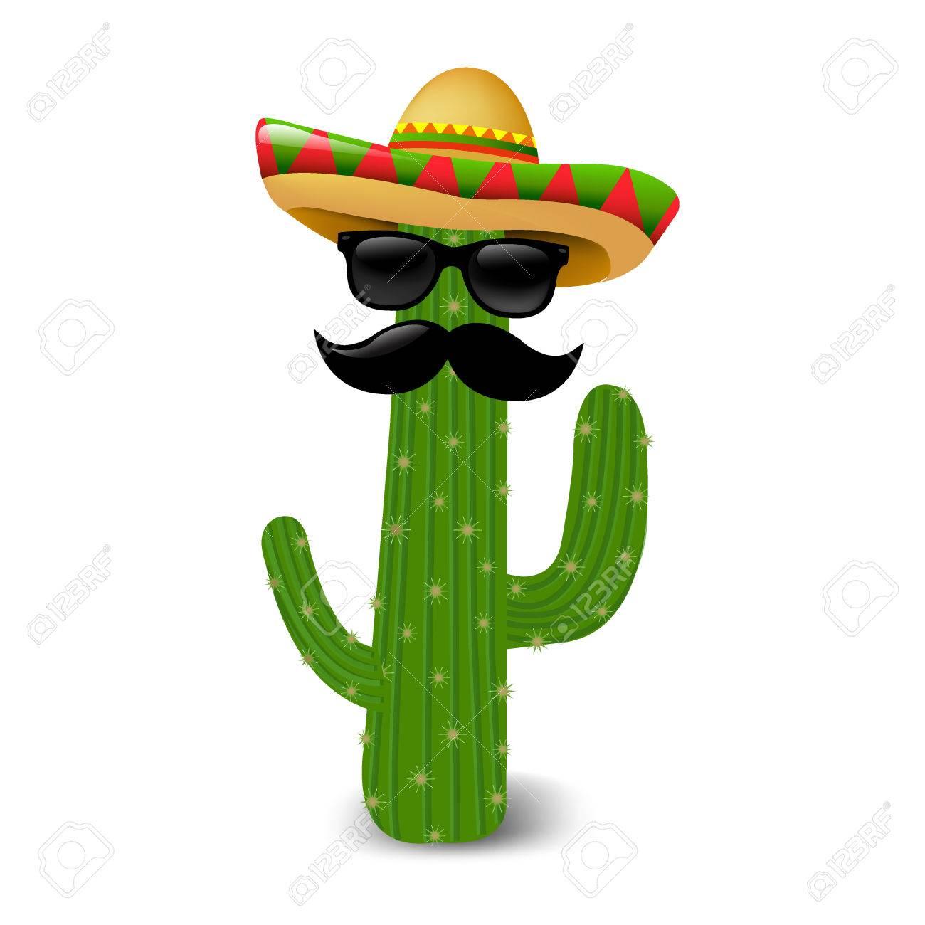 DegradadoIlustración Gafas Mexicanos Cactus Malla De Sol Con OkZiXPu