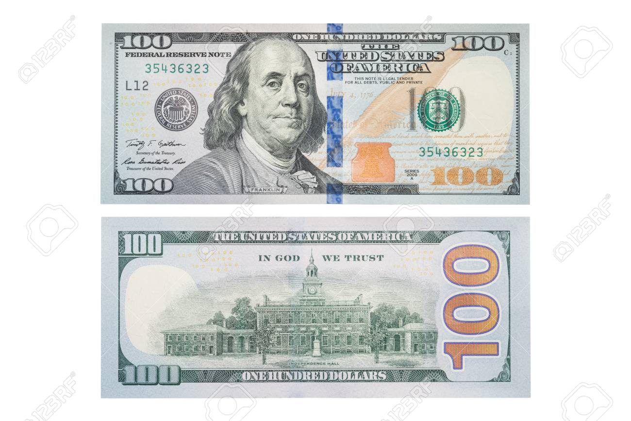 The new us 100 dollar bill both sides partial number content the new us 100 dollar bill both sides partial number content stock photo 83469923 voltagebd Choice Image
