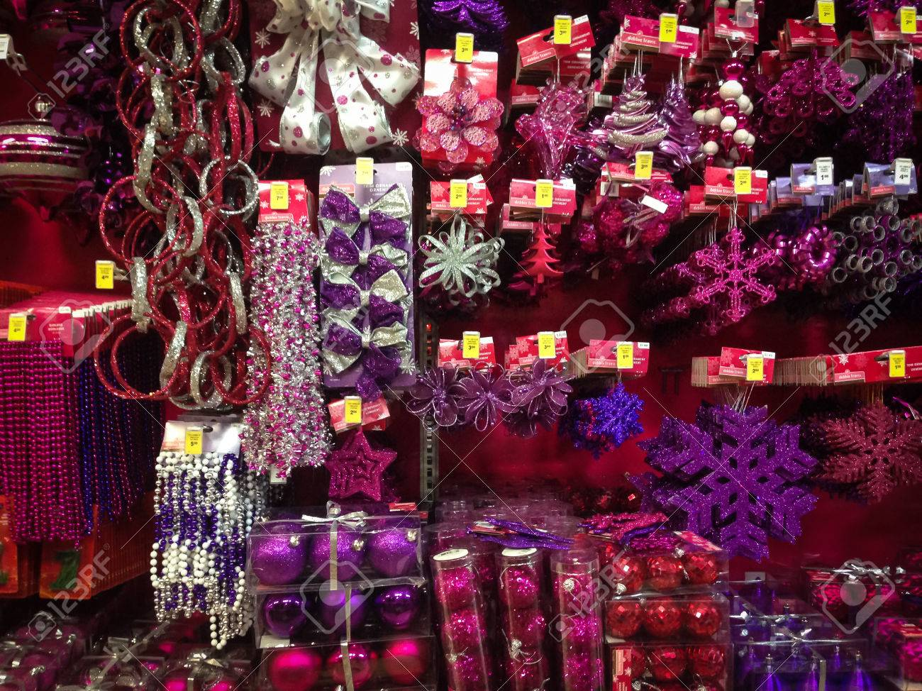 Christmas In Toronto Canada.Toronto November 15 Christmas Ornaments Go For Sale At The