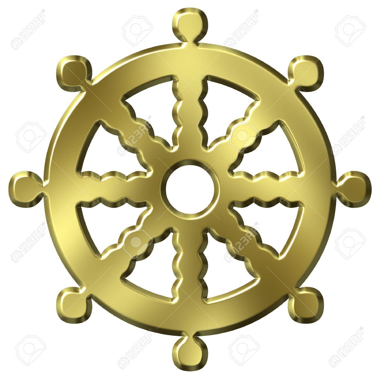 3d golden buddhism symbol wheel of life stock photo picture and 3d golden buddhism symbol wheel of life stock photo 1771605 biocorpaavc