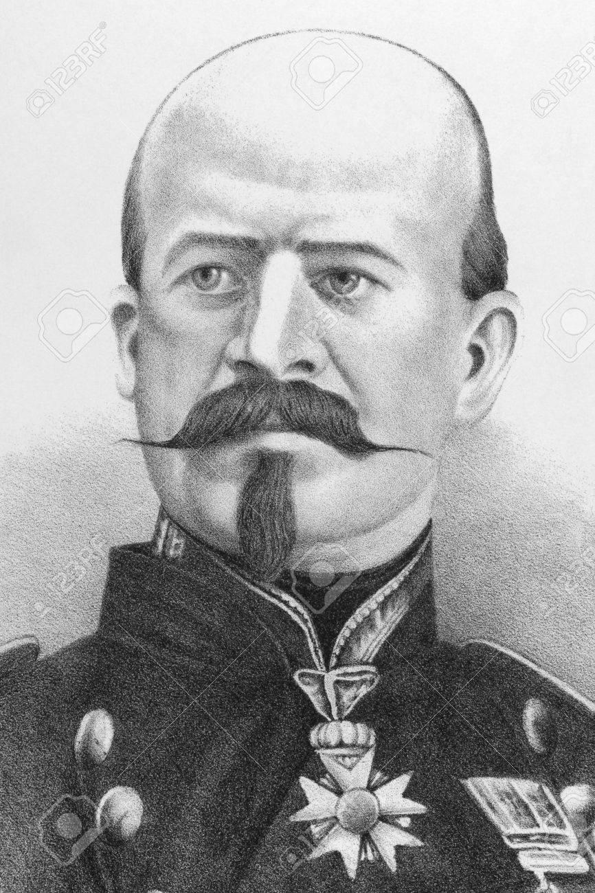 Foto de archivo - Louis Jules Trochu (1815-1896) en grabado desde el siglo  XIX. Líder militar y político francés. Publicado en Londres por James  Hagger. ec9ef43310e