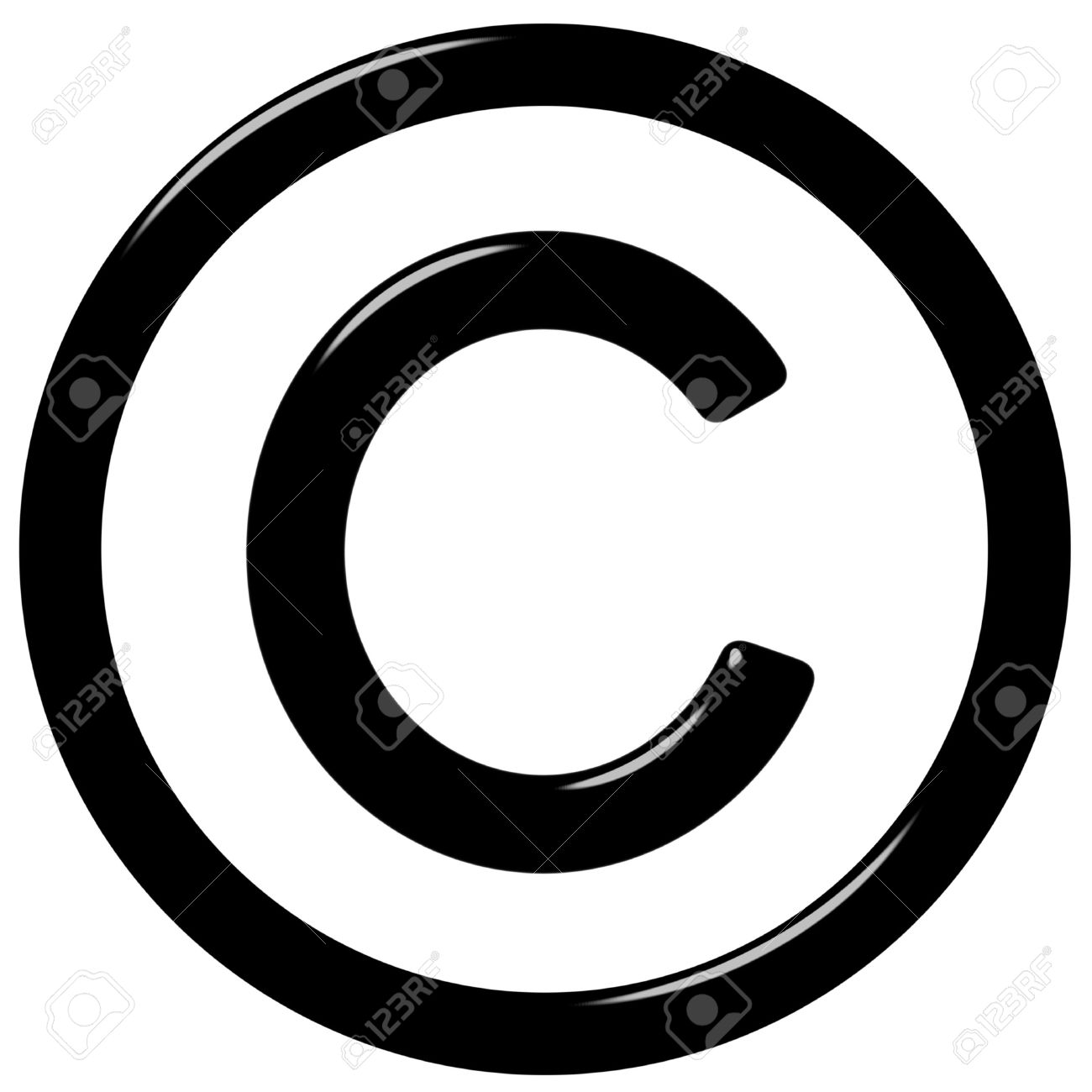 3d Copyright Symbol Stock Photo Picture And Royalty Free Image