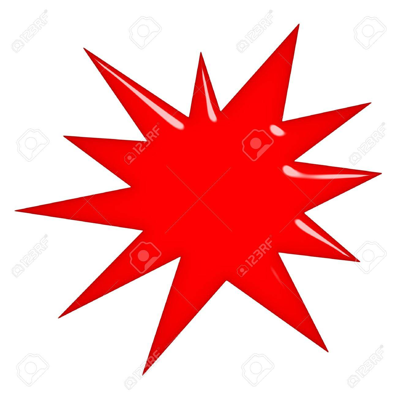 3d starburst Stock Photo - 7352788