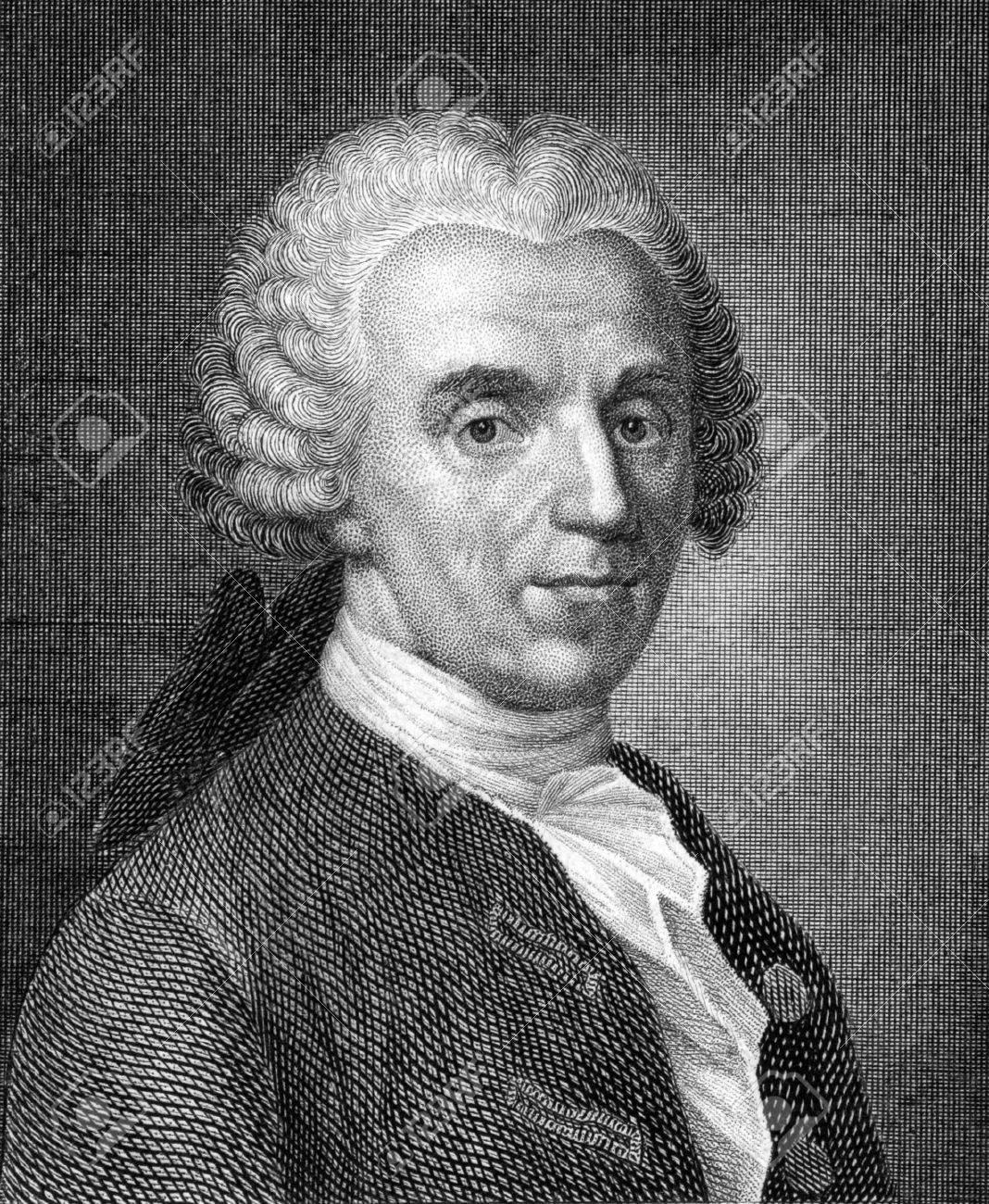1859 年から彫刻のキリスト教 Furchtegott ゲッレールト (1715年-1769 ...