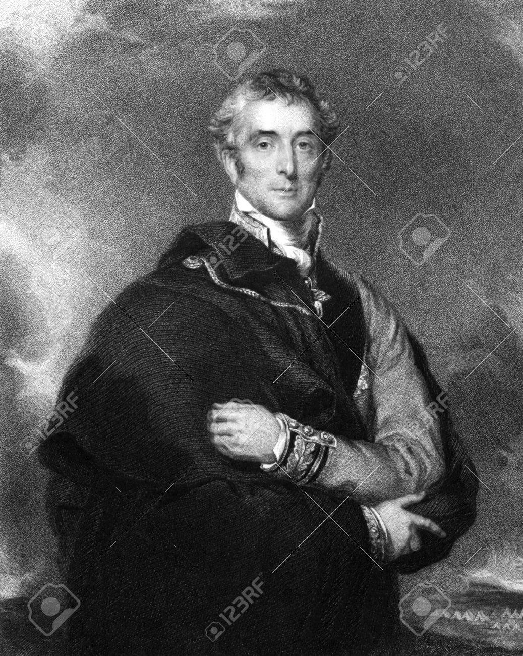 Arthur ウェルズリー、第 1 ウェリントンの公爵 (1769年-1852) 1834年 ...