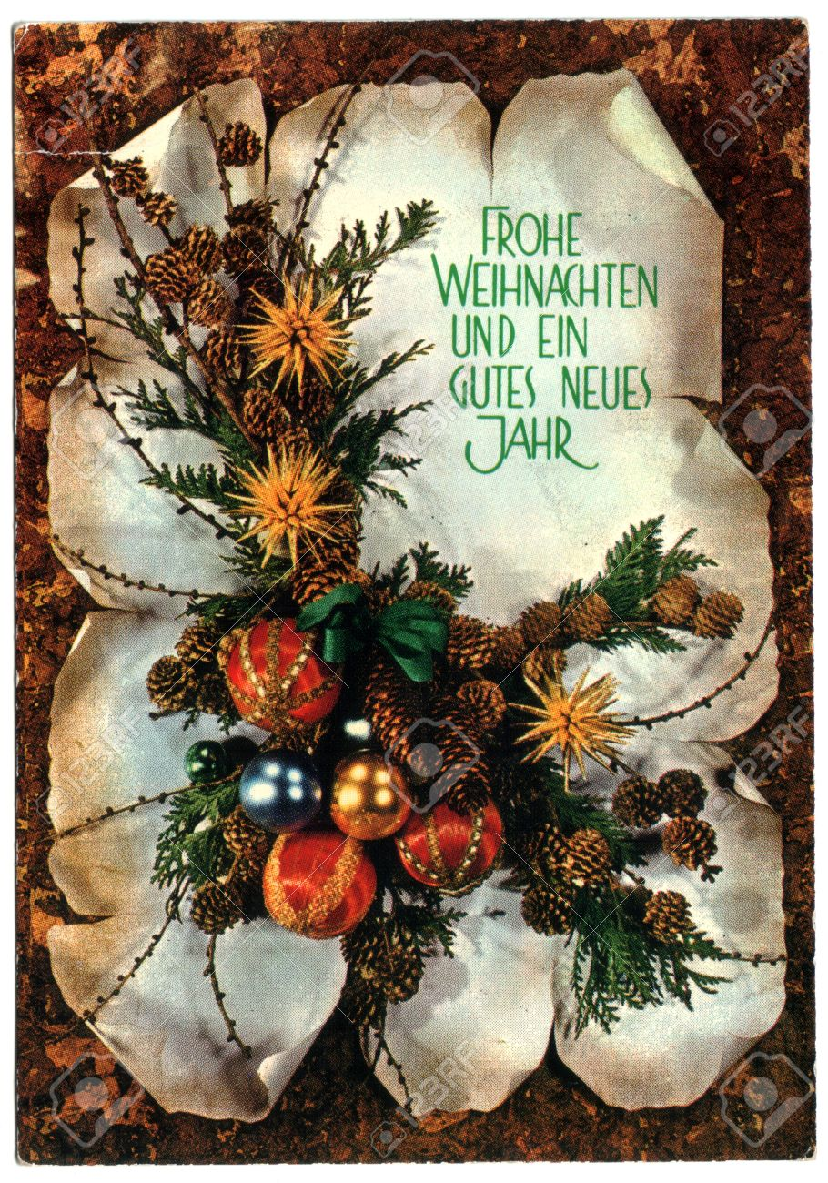 Germany Postcard Printed In The Germany Shows - Christmas ...