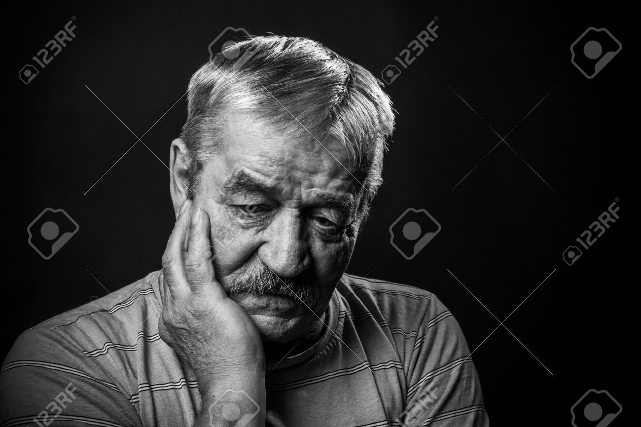 very sad old man stock photo picture and royalty free image image