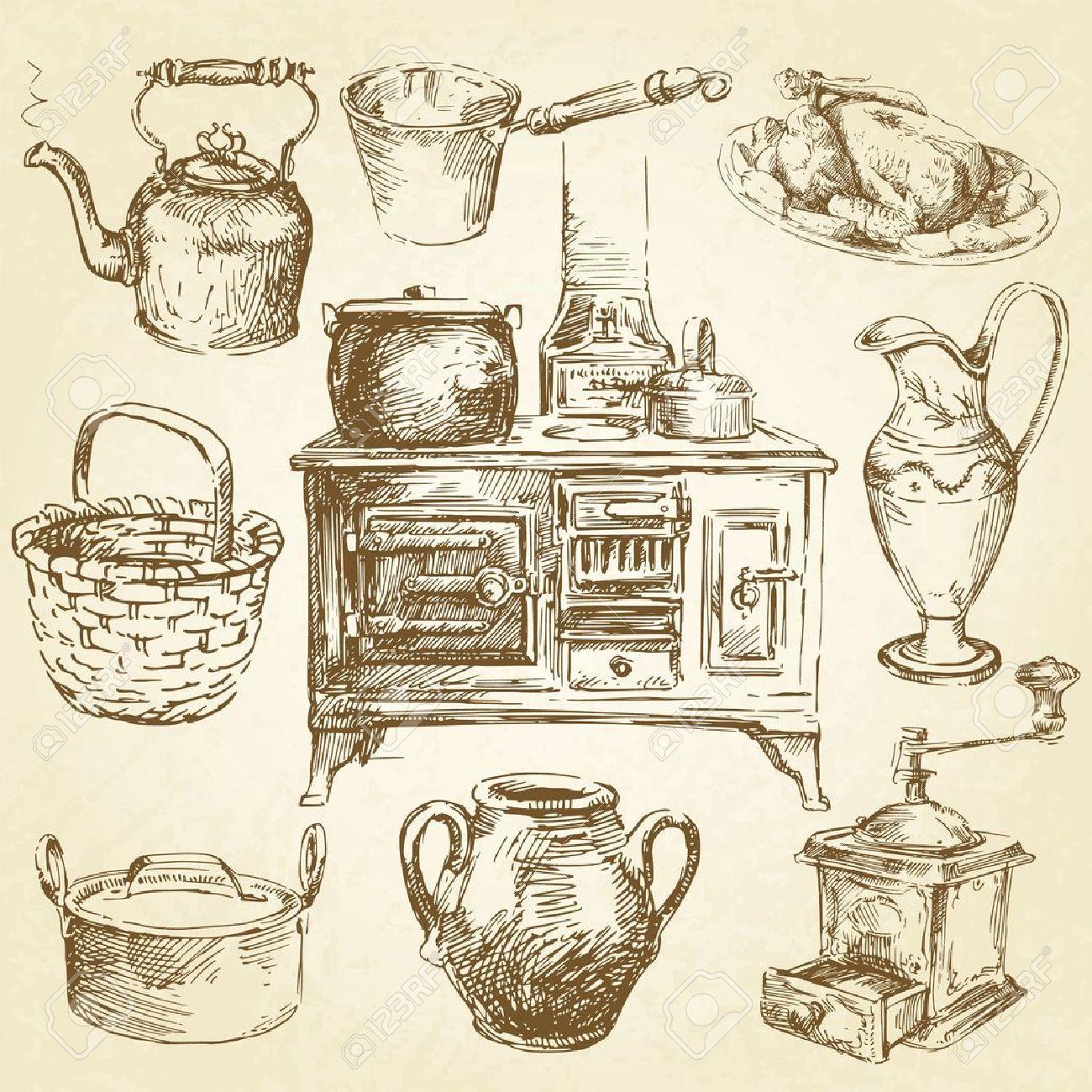 vintage kitchenware - 13360924