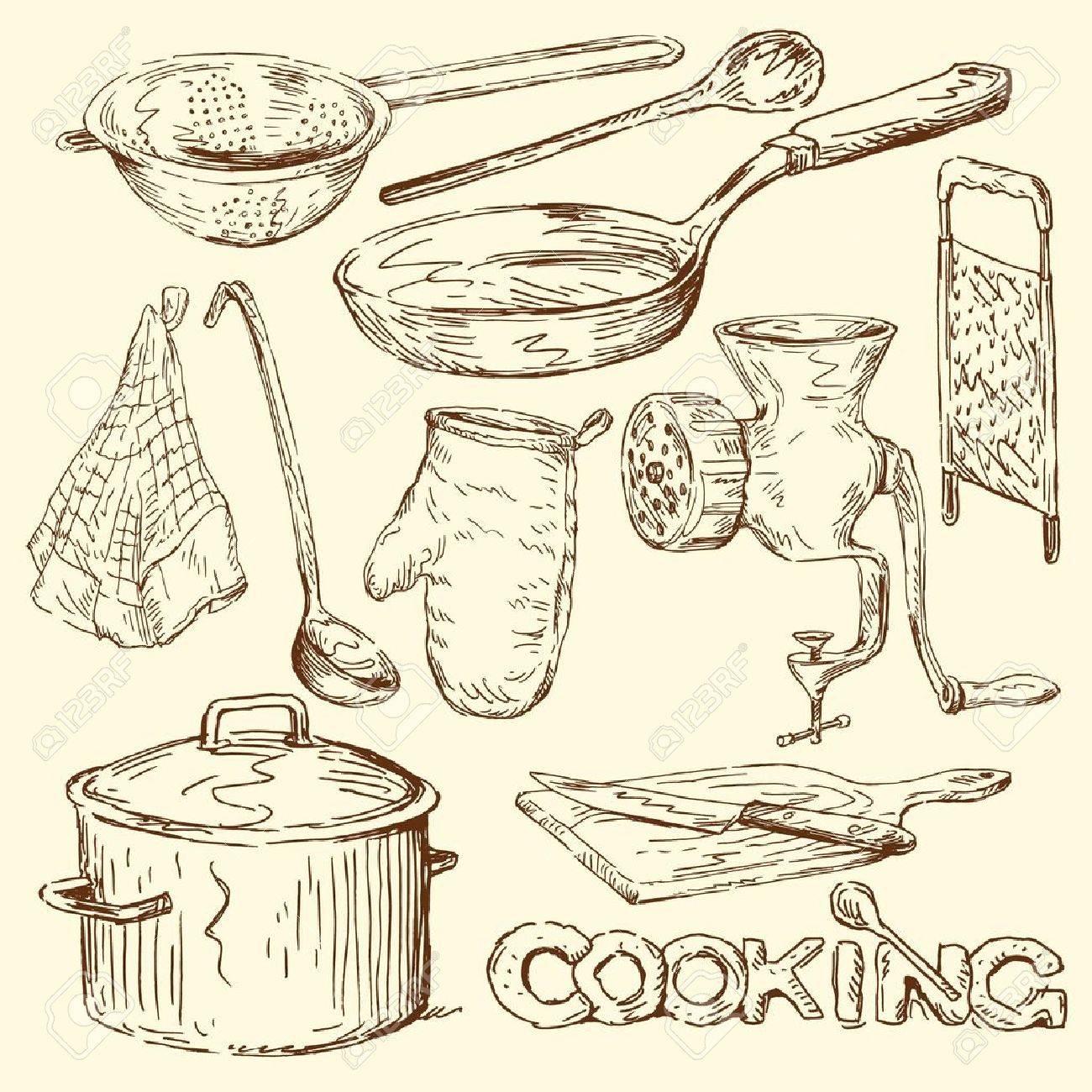 cooking doodles - 14191334