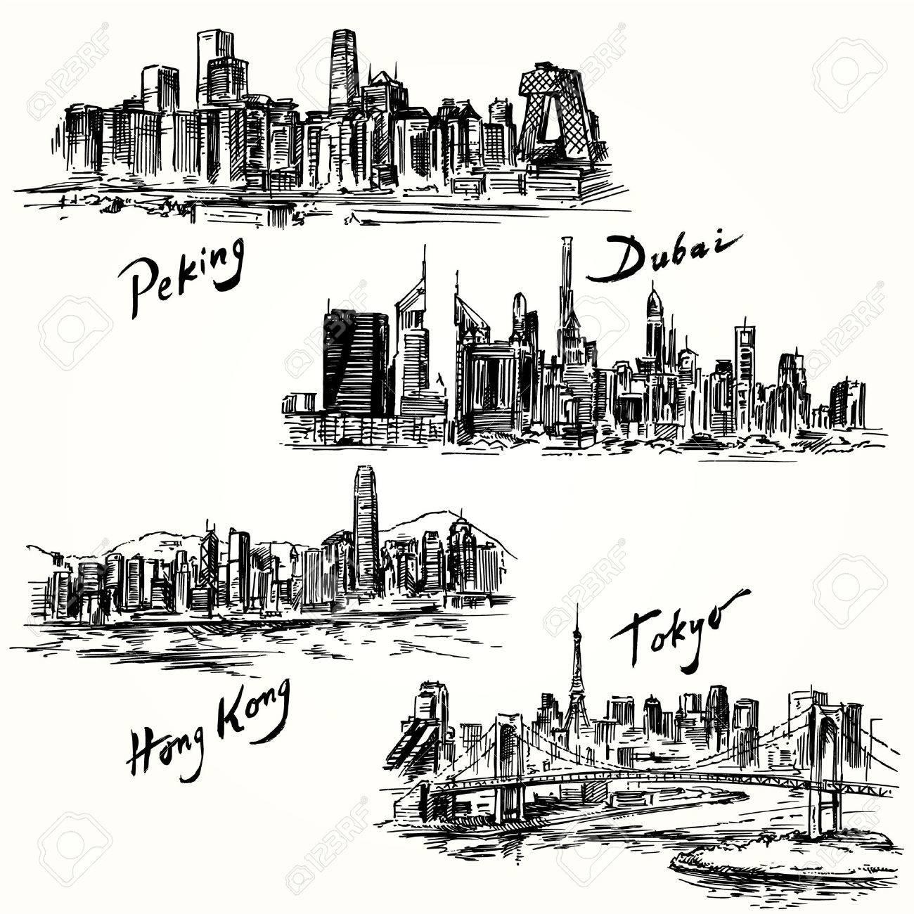 Tokyo, Peking, Hong Kong, Dubai - 29623785