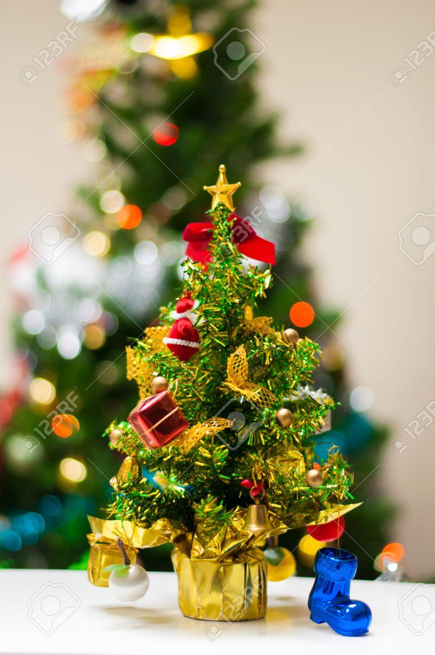 mini christmas tree on office desk stock photo 24774877 christmas tree office desk