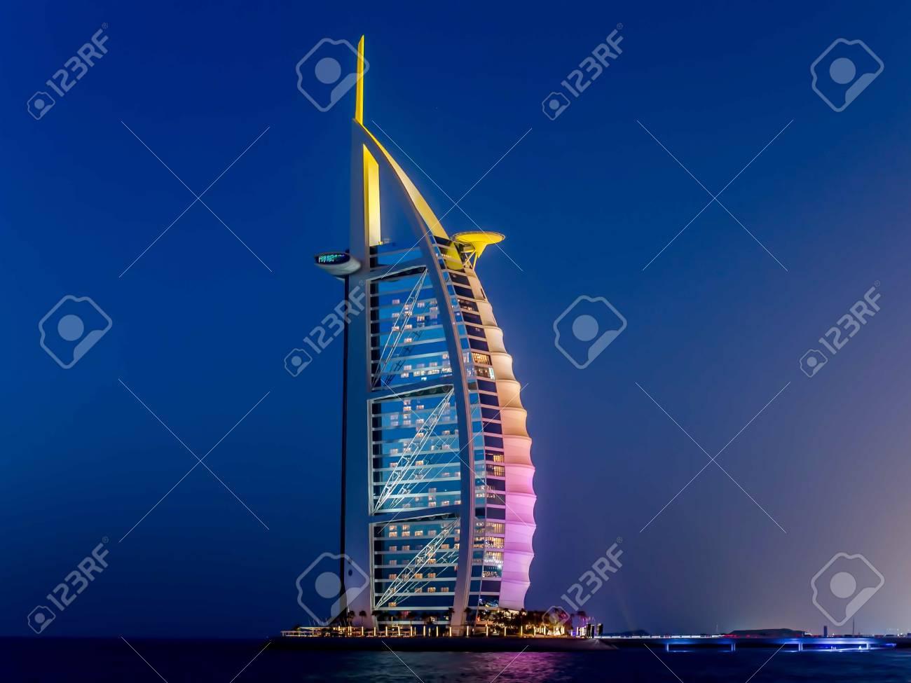 Dubai, UAE - May 31, 2013: The Burj El Arab hotel - 62799536