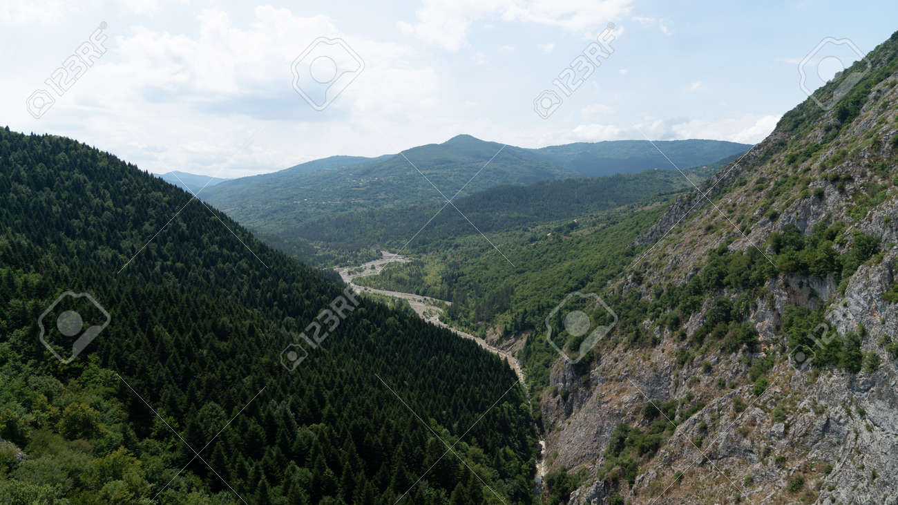 View of Valla Canyon in Kure mountains, Pinarbasi, Kastamonu, Turkey - 170682391
