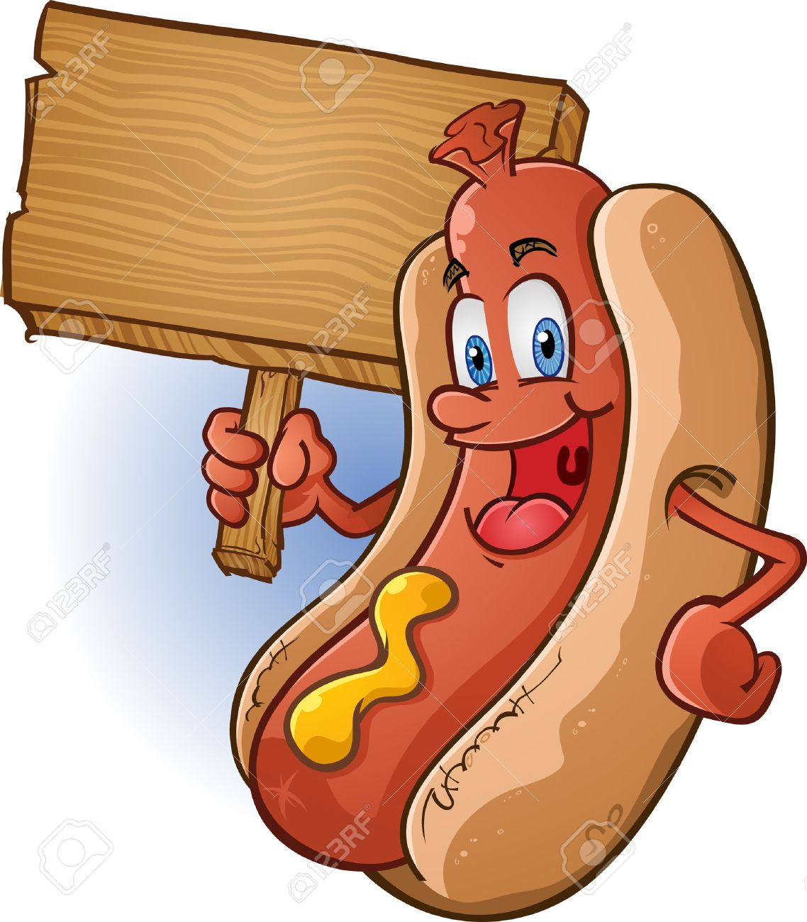 3,061 Hot Dog Bun Stock Illustrations, Cliparts And Royalty Free ...