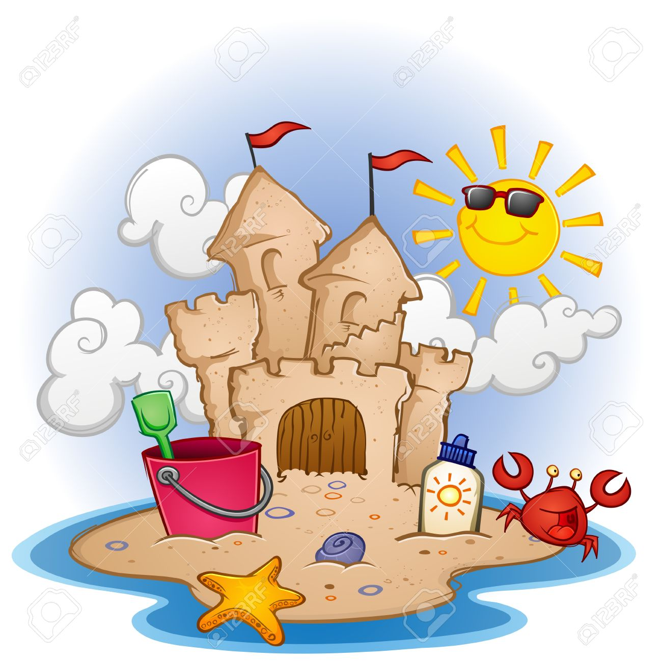 1 527 sandcastle cliparts stock vector and royalty free sandcastle rh 123rf com sand castle clipart sand castle clip art free