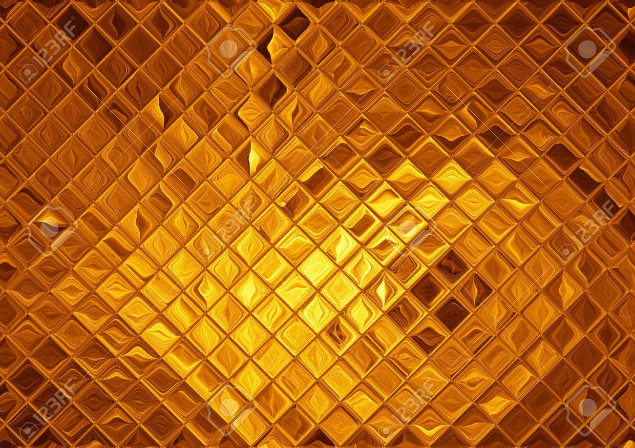 Gouden Mozaiek Tegels : Luxe gouden mozaïek abstracte gouden achtergrond royalty vrije