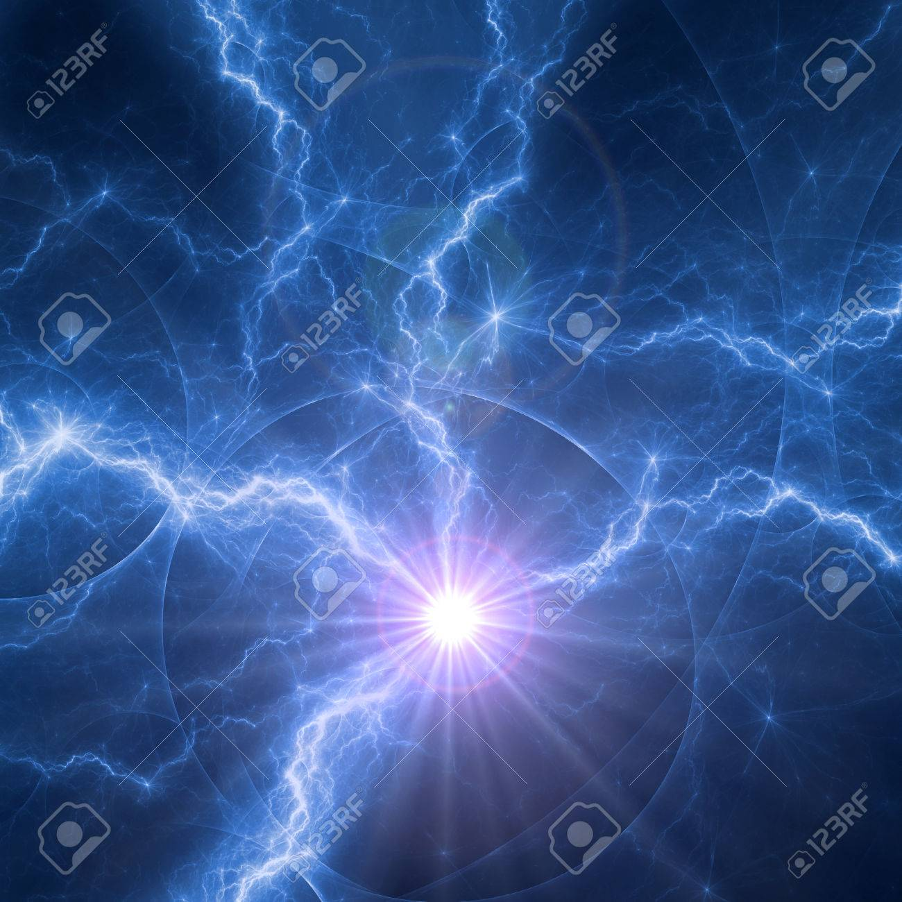 blue plasma abstract electric explosion stock photo picture and