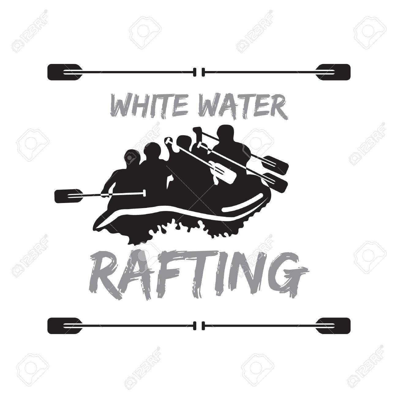 430 White Water Rafting Stock Illustrations Cliparts And Royalty