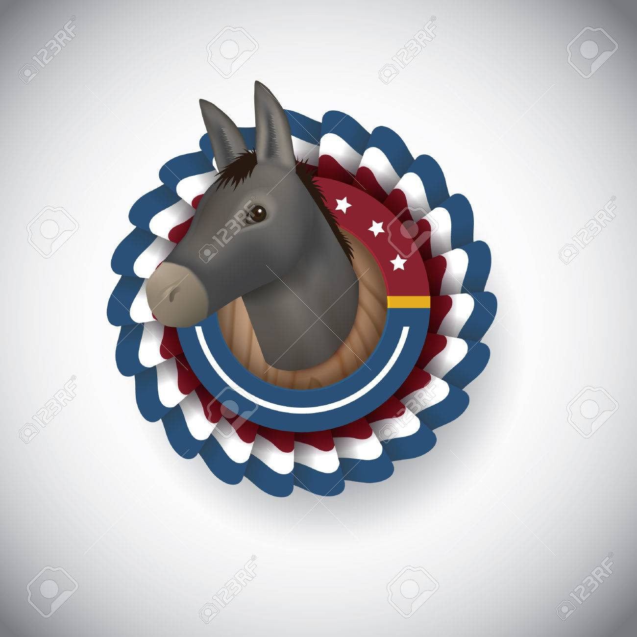 Democratic party symbol royalty free cliparts vectors and stock democratic party symbol stock vector 43246194 biocorpaavc Image collections