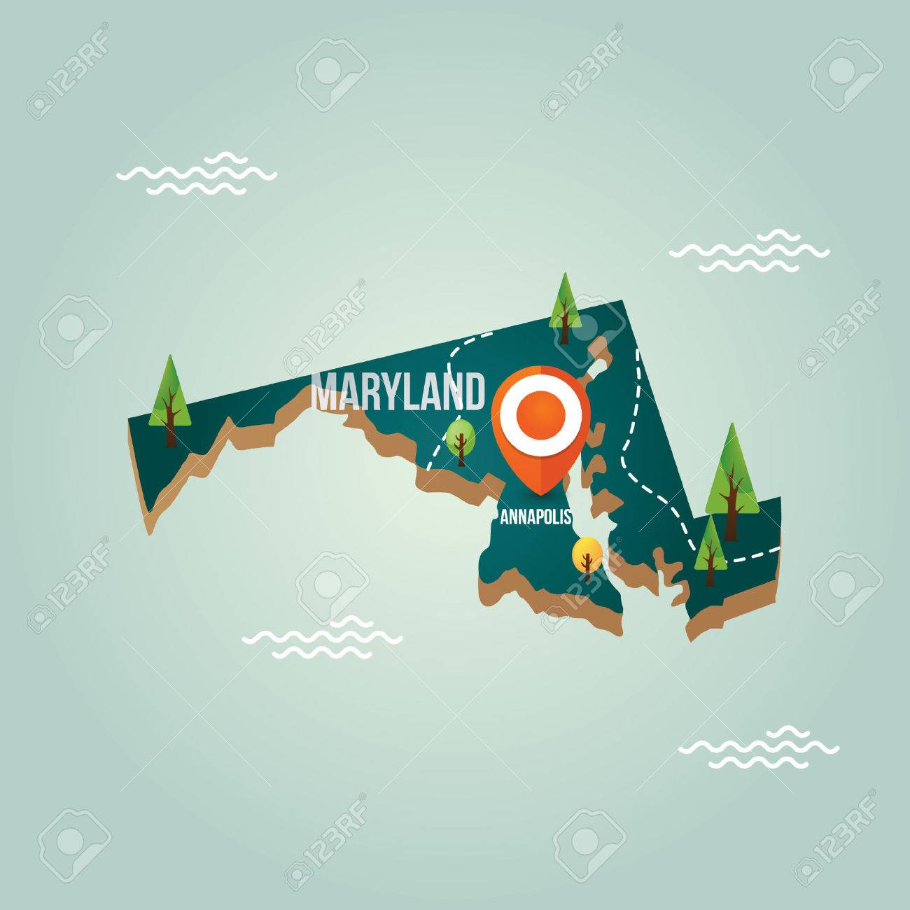 Maryland map with capital city on graffiti of maryland, layout of maryland, landscape of maryland, graph of maryland, icons of maryland, clipart of maryland, food of maryland, drawing of maryland, cartoon of maryland,