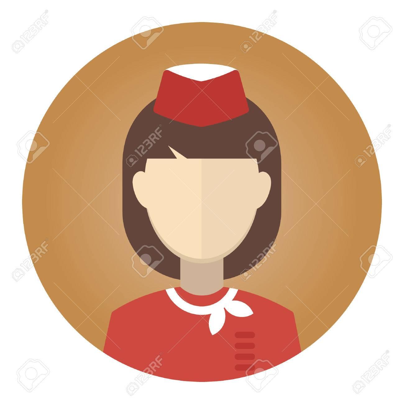 Air Hostess Royalty Free Cliparts Vectors And Stock Illustration