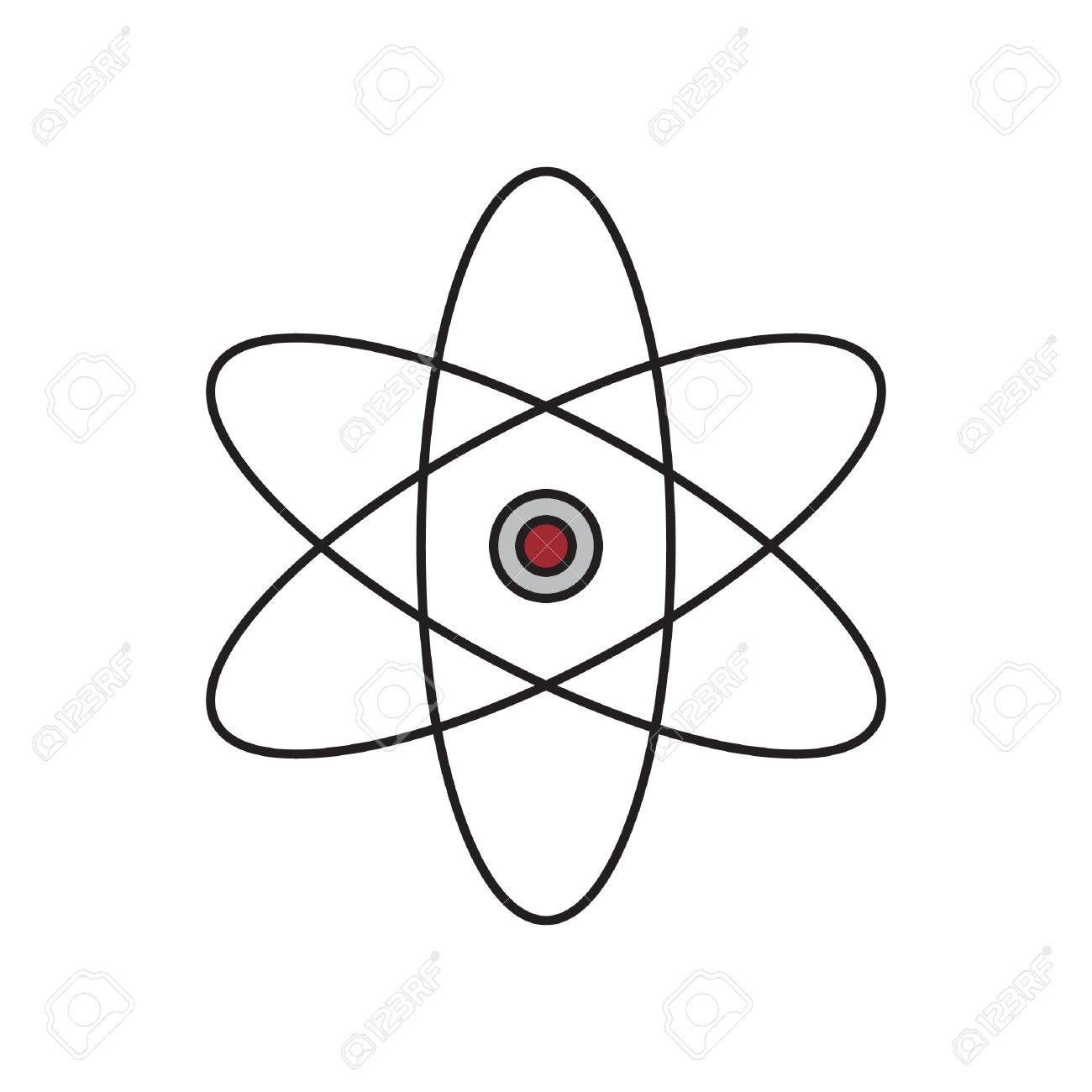 Atomic Structure Stock Vector