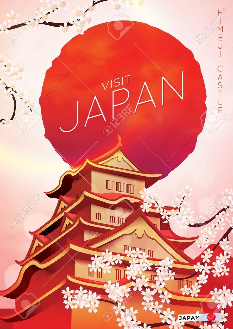Visit Japan Poster Royalty Free Cliparts Vectors And Stock Illustration Image 49888111