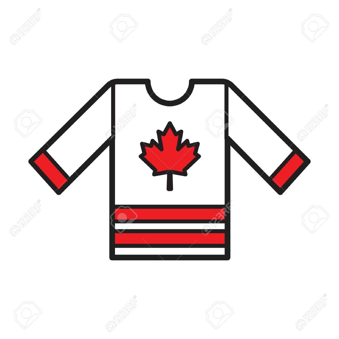 A Hockey Jersey Illustration Royalty Free Cliparts Vectors And