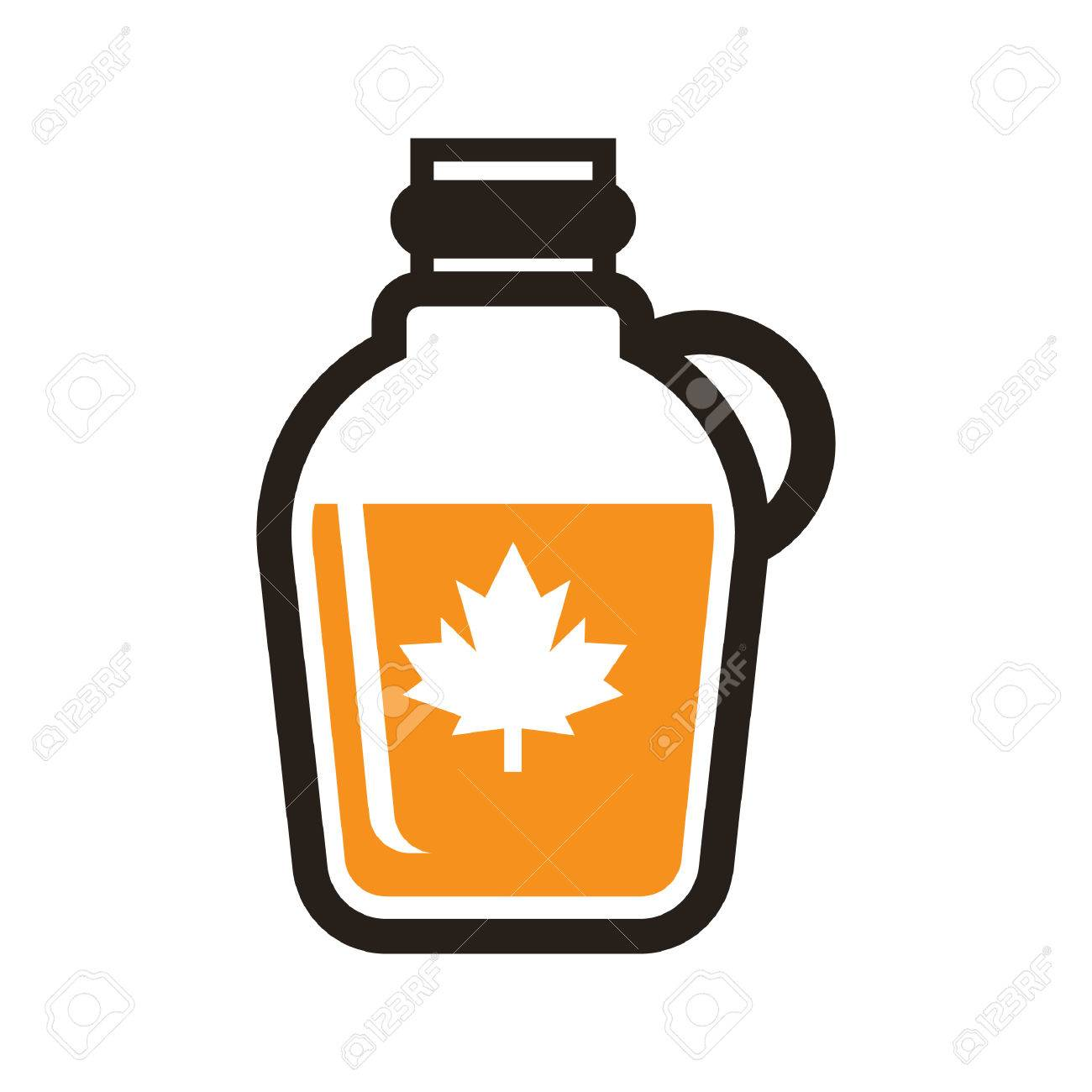a maple syrup illustration royalty free cliparts vectors and rh 123rf com Syrup Bottle Drawings cough syrup bottle clipart