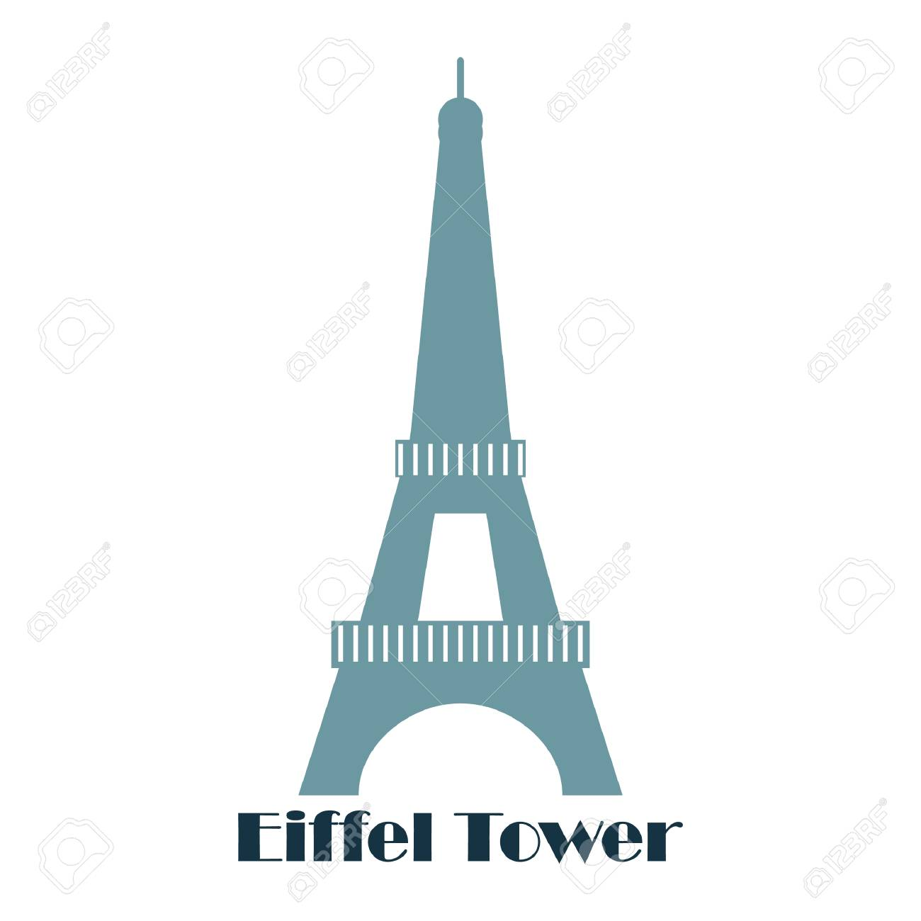 eiffel tower - 106669235