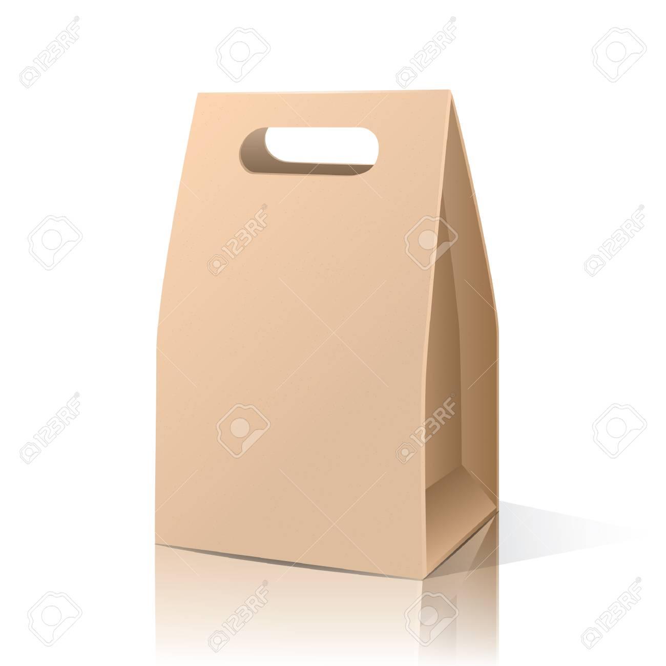 brown paper bag - 106669408