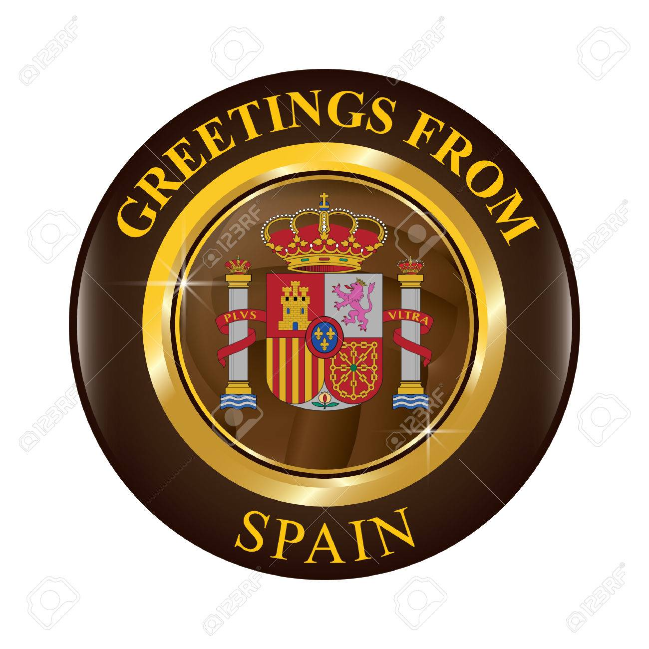 Greetings from spain royalty free cliparts vectors and stock greetings from spain stock vector 81535874 m4hsunfo