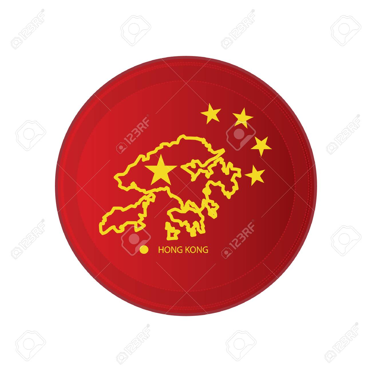 hongkong map - 106669663