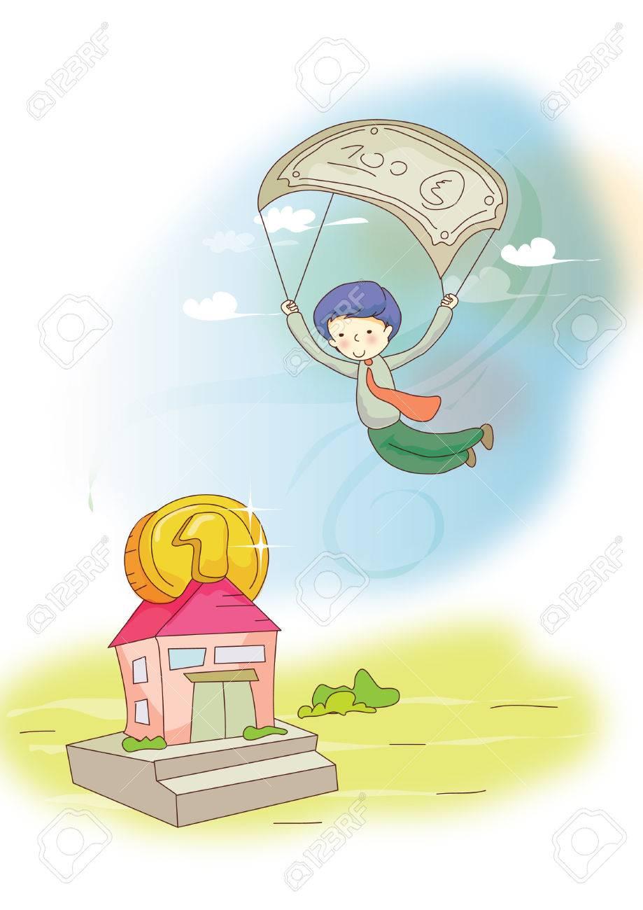Resultado de imagen para niño paracaidas