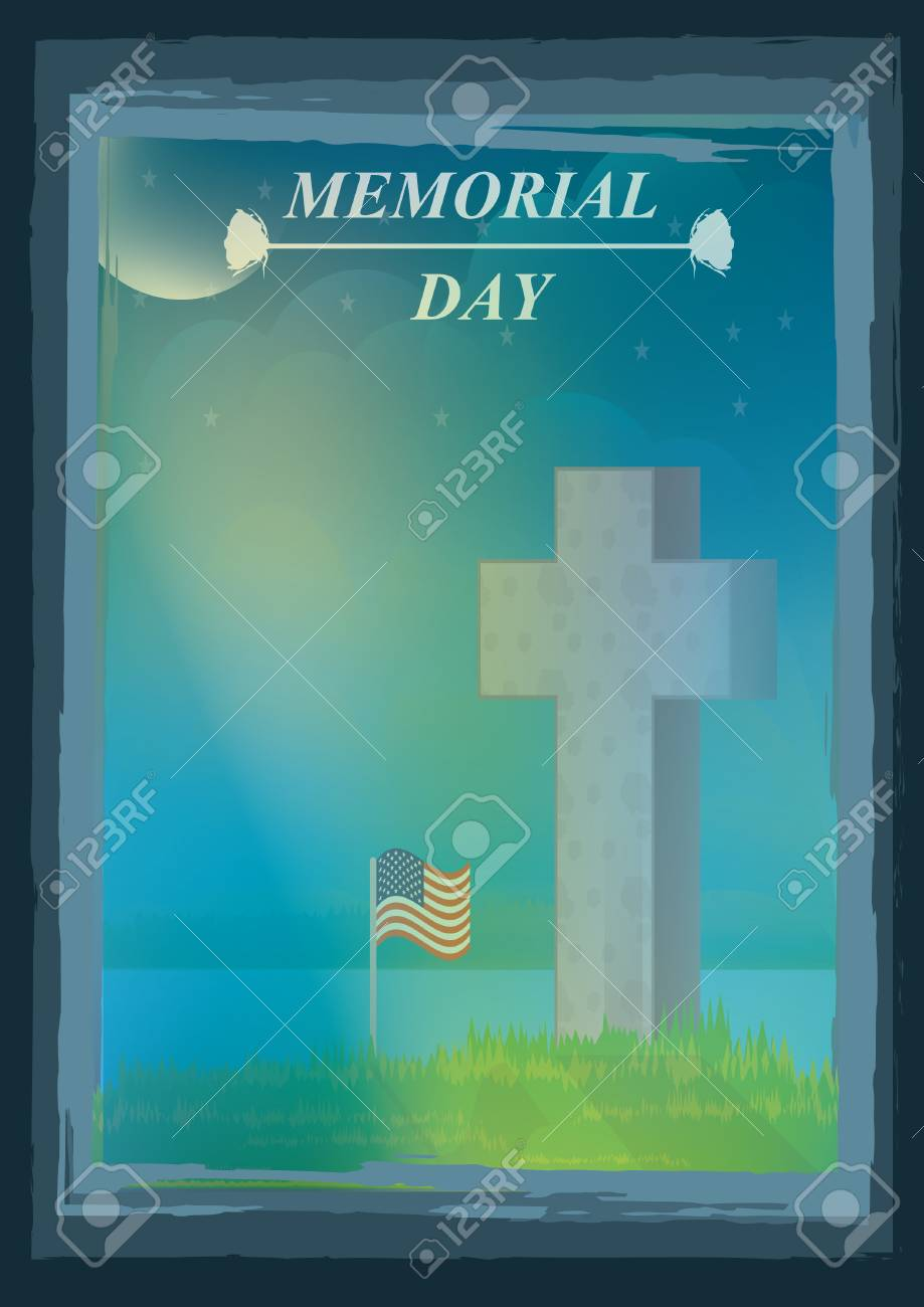 memorial day posters royalty free cliparts vectors and stock