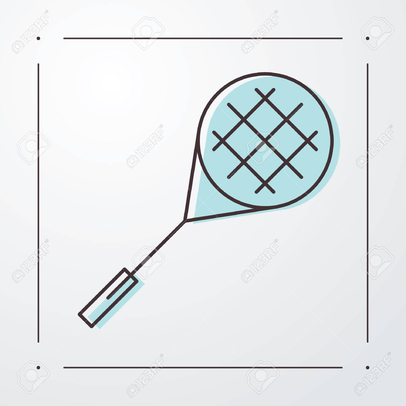 Astonishing Tennis Racket Royalty Free Cliparts Vectors And Stock Illustration Wiring Cloud Intapioscosaoduqqnet