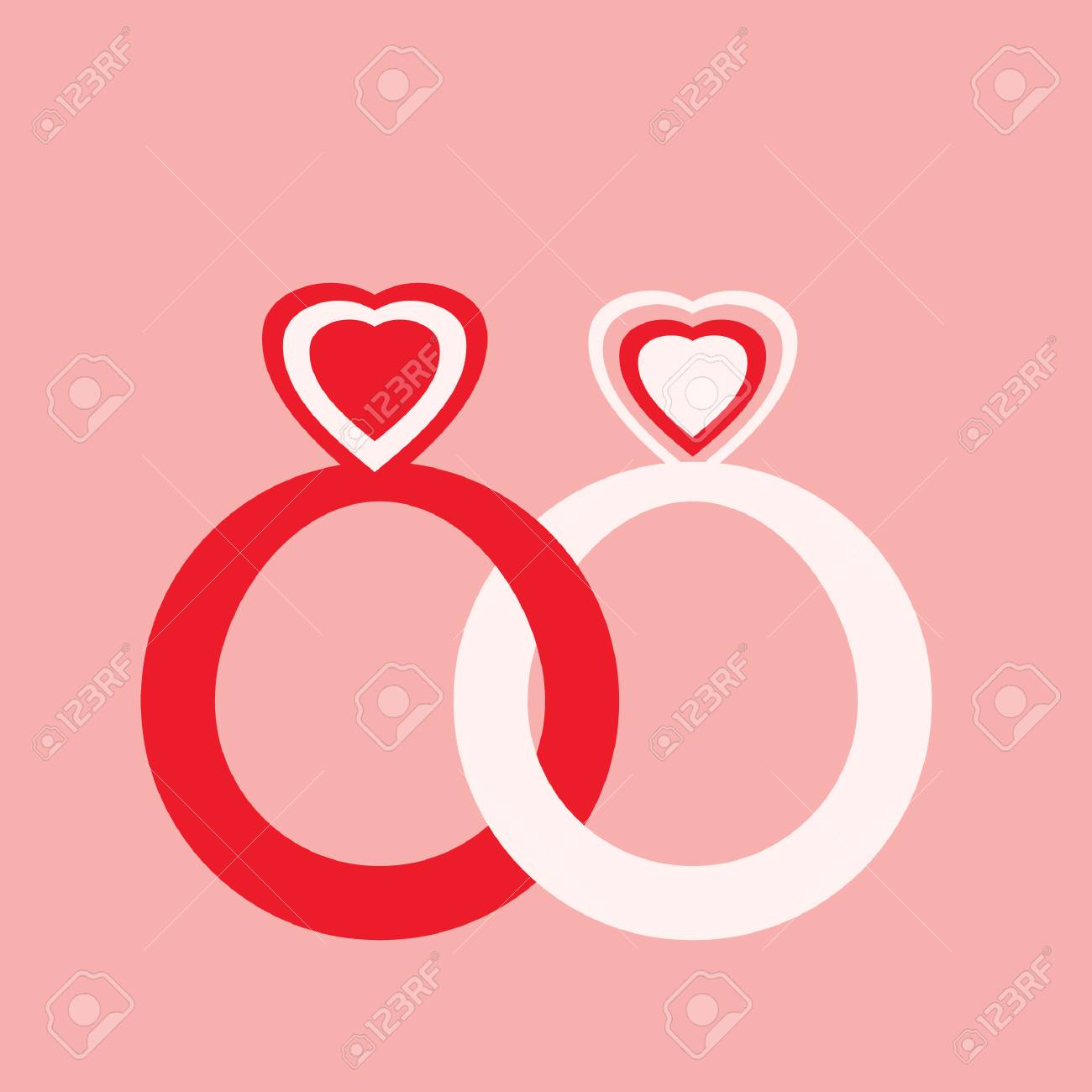 Wedding Rings Royalty Free Cliparts, Vectors, And Stock Illustration ...