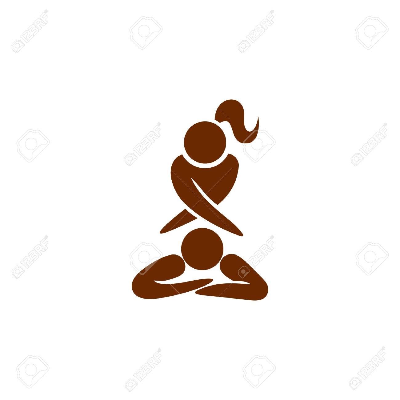 girl giving massage