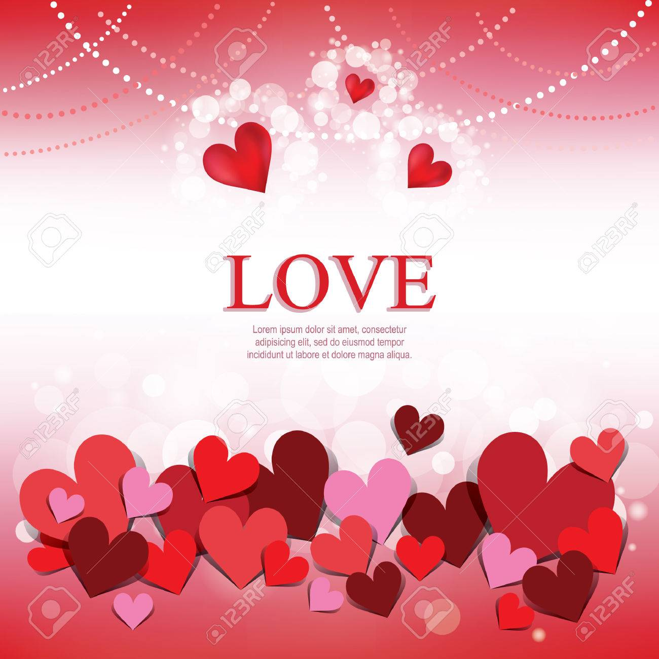 Love Wallpaper Royalty Free Cliparts Vectors And Stock