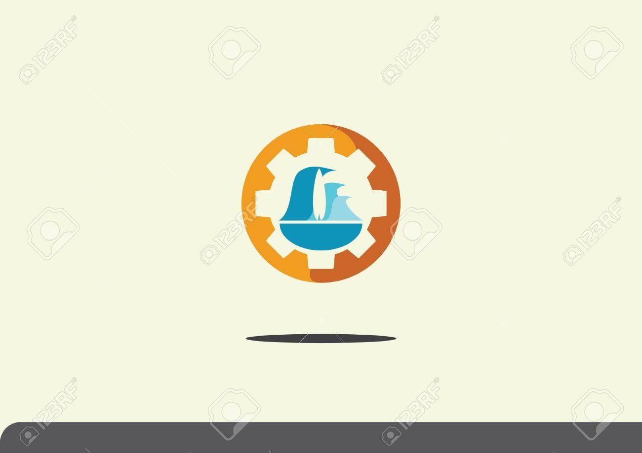 abstract logo - 52544727