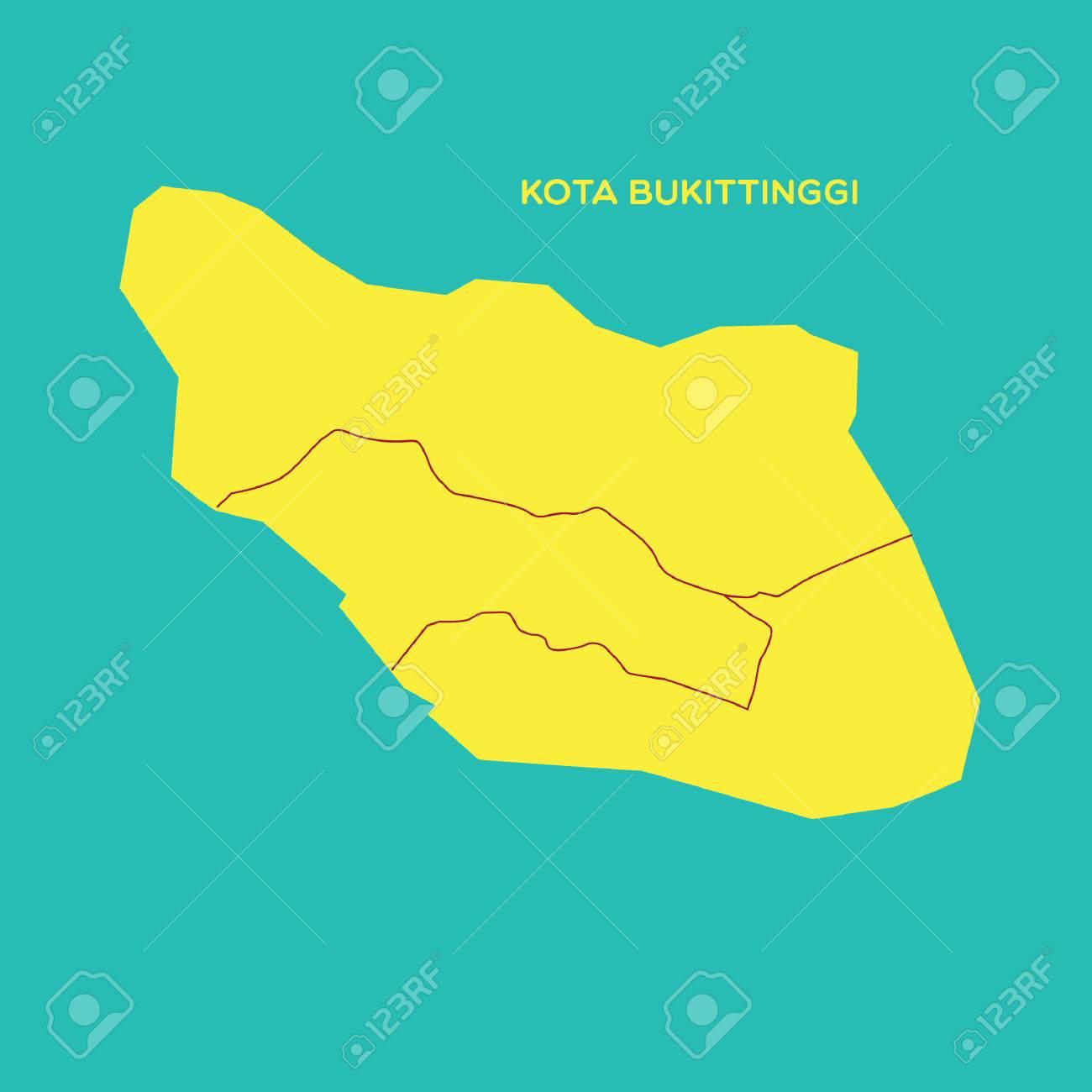 Map Of Kota Bukittinggi Royalty Free Cliparts Vectors And Stock Illustration Image 52631701
