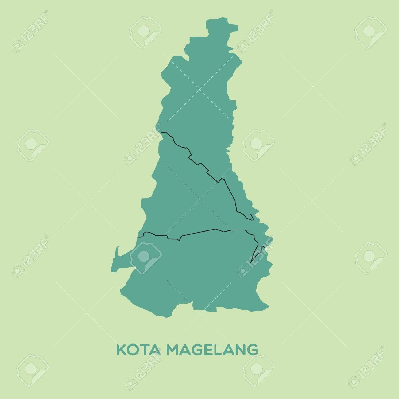 Map Of Kota Magelang Royalty Free Cliparts Vectors And Stock Illustration Image 52631803