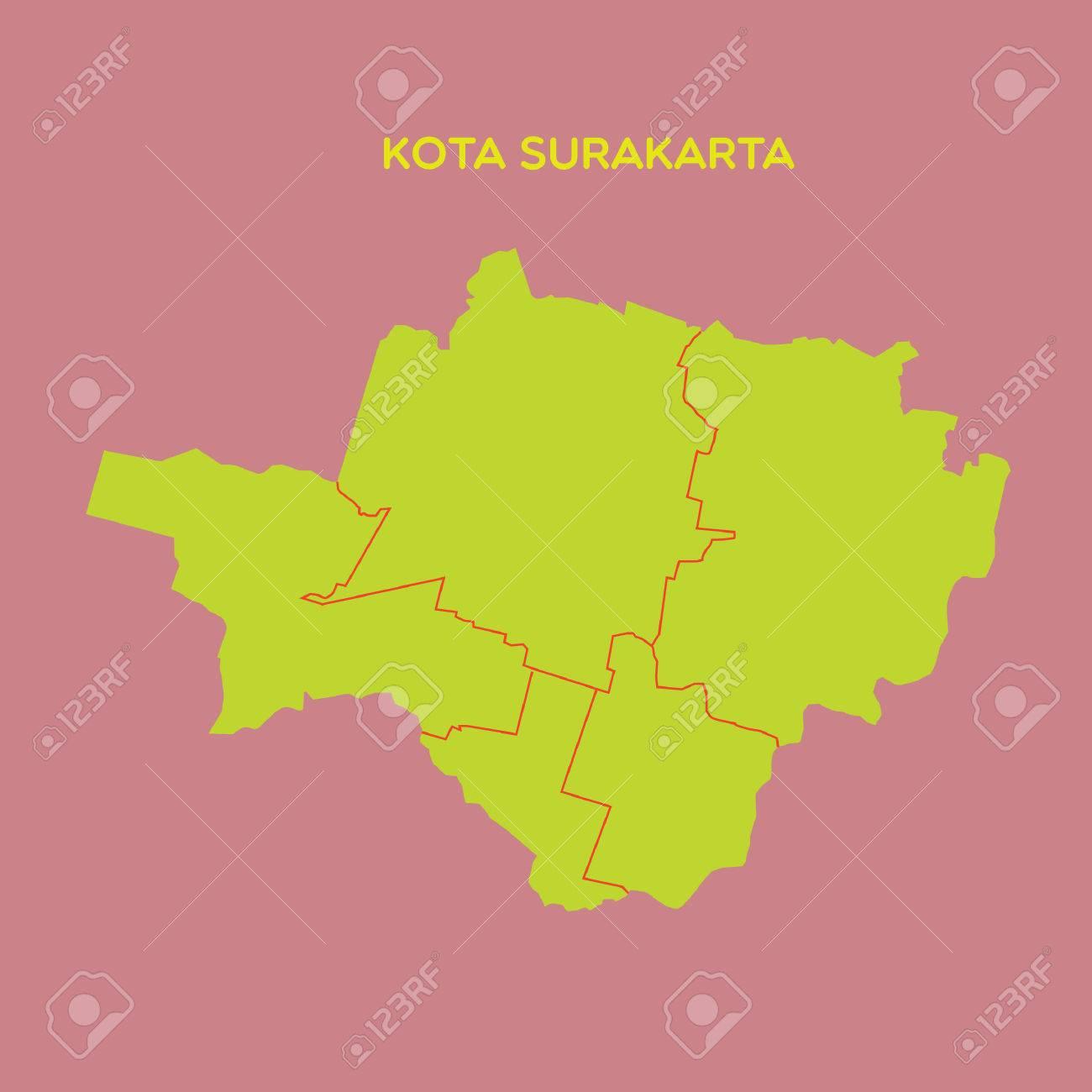 map of kota surakarta