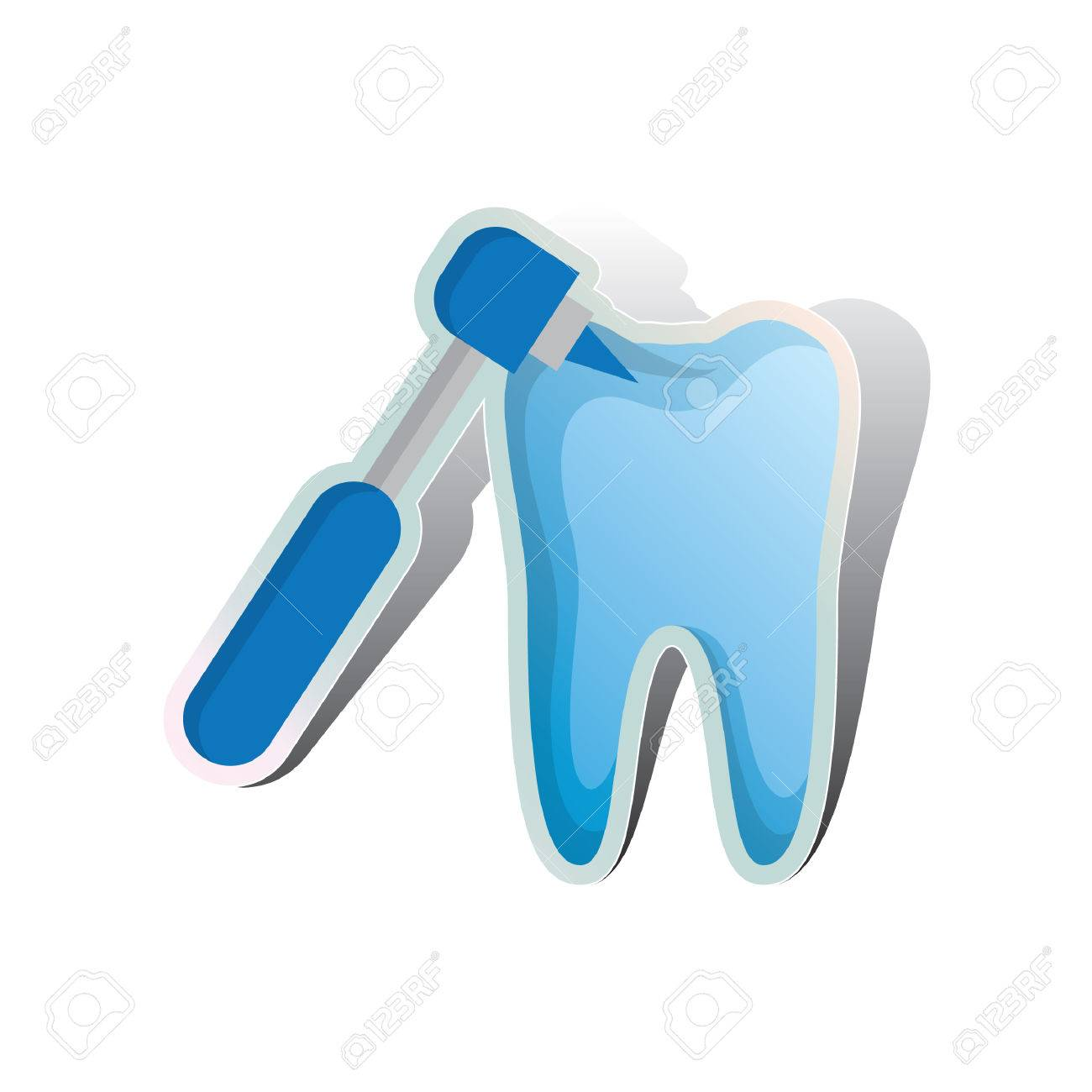 dental drill drilling on tooth royalty free cliparts vectors and