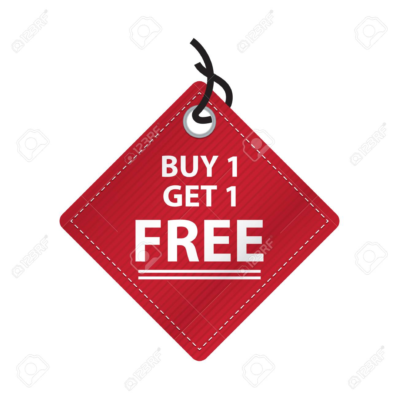 78f7d5257cb463 Buy One Get One Free Tag Royalty Free Cliparts, Vectors, And Stock ...