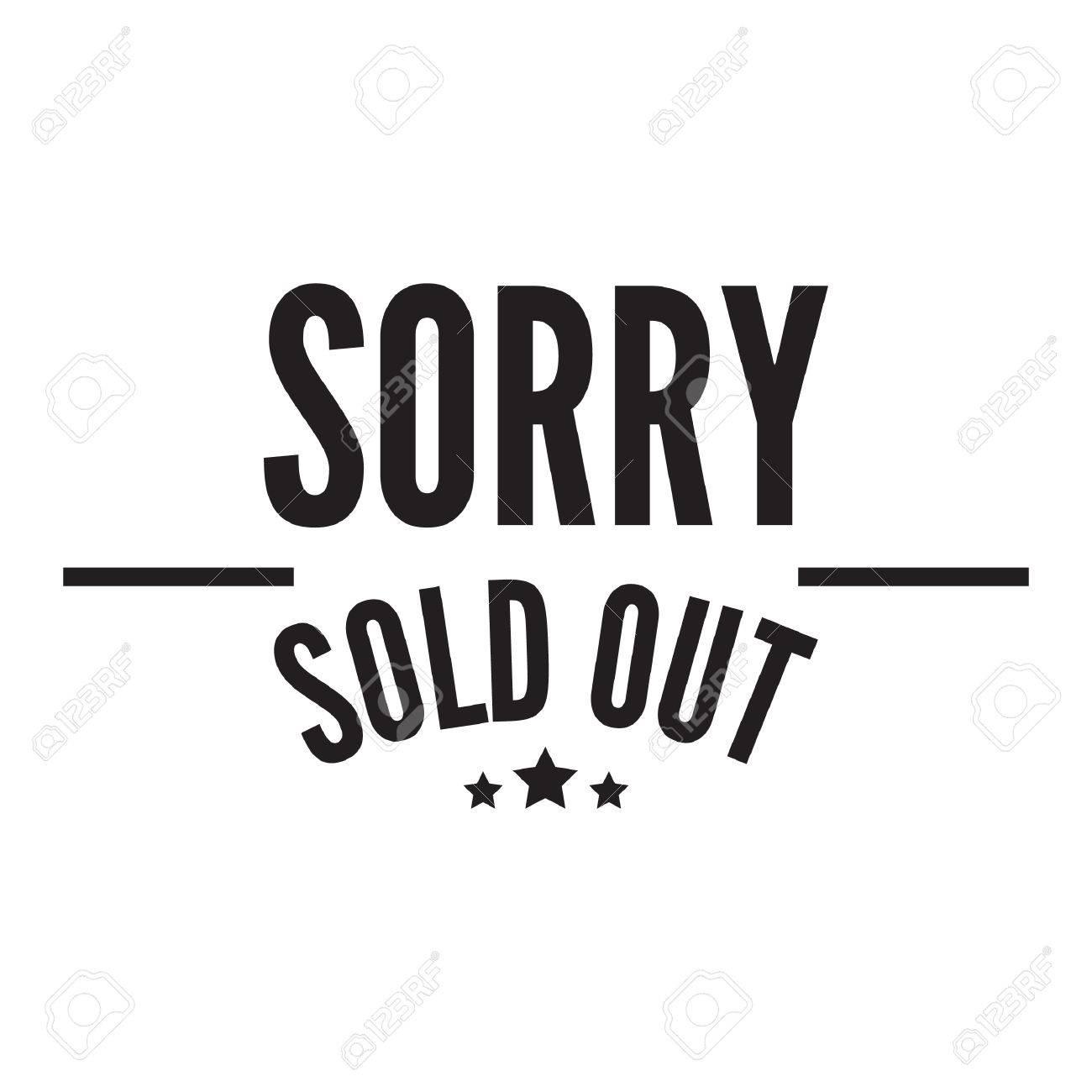 Désolé vendu